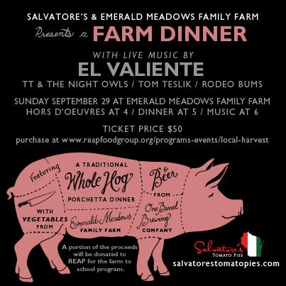Salvatore's Farm Dinner